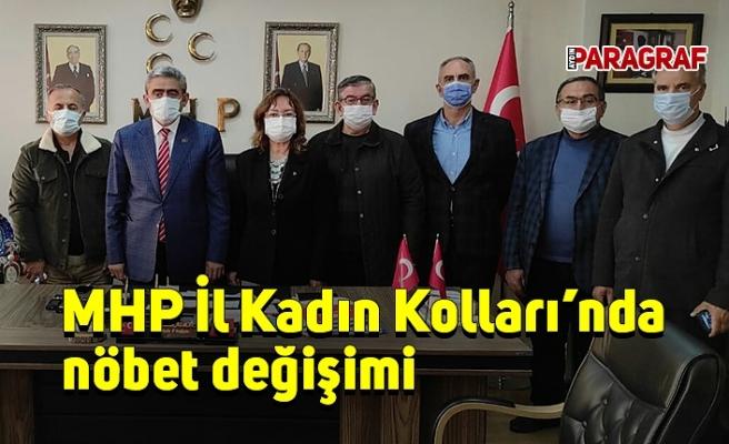 MHP İl Kadın Kolları'nda nöbet değişimi