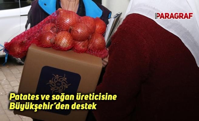 Patates ve soğan üreticisine Büyükşehir'den destek
