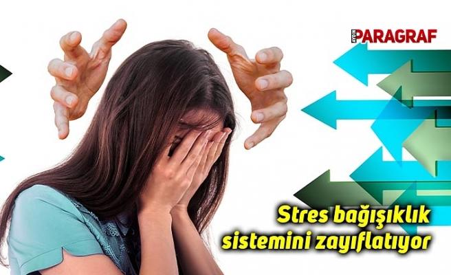 Stres bağışıklık sistemini zayıflatıyor