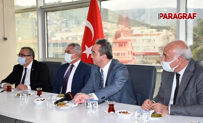 CHP'li vekiller Söke Belediye Başkanı Tuncel'i ziyaret etti