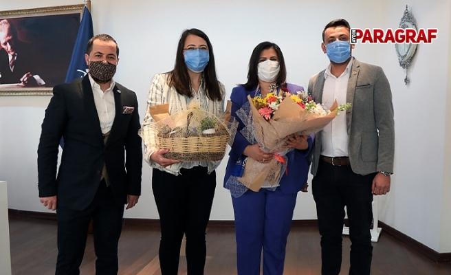 Germencik Ziraat Odası'ndan Başkan Çerçioğlu'na Ziyaret