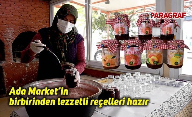 Ada Market'in birbirinden lezzetli reçelleri hazır
