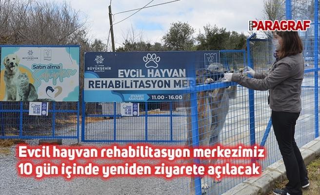 Evcil hayvan rehabilitasyon merkezimiz 10 gün içinde yeniden ziyarete açılacak