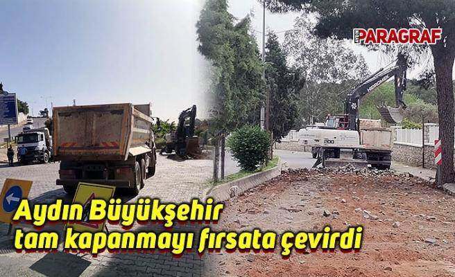 Aydın Büyükşehir tam kapanmayı fırsata çevirdi