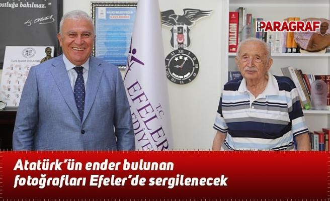 Atatürk'ün ender bulunan fotoğrafları Efeler'de sergilenecek