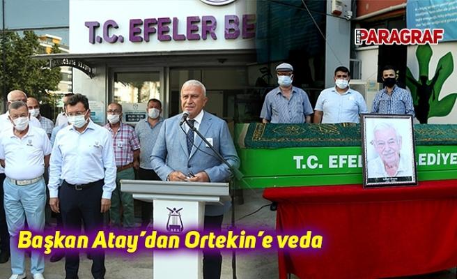 Başkan Atay'dan Ortekin'e veda