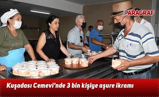 Büyükşehir'den vatandaşlara aşure ikramı