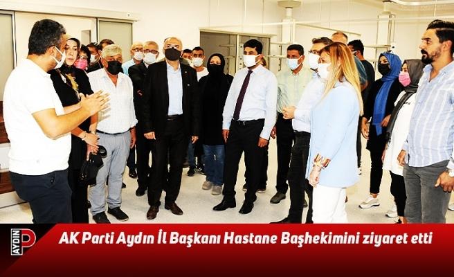 AK Parti Aydın İl Başkanı ADÜ Hastane Başhekimini ziyaret etti