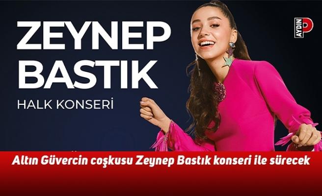 Altın Güvercin coşkusu Zeynep Bastık konseri ile sürecek