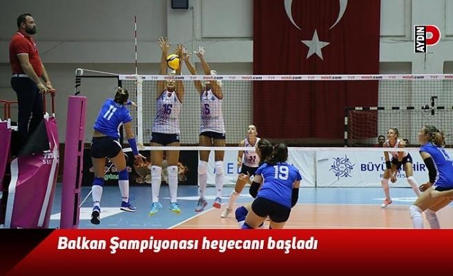 Balkan Şampiyonası heyecanı başladı