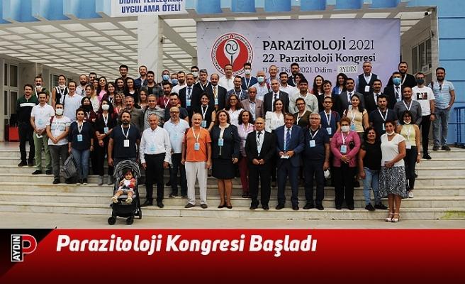Parazitoloji Kongresi Başladı