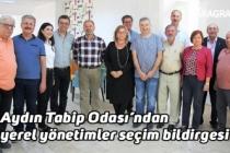 Aydın Tabip Odası'ndan yerel yönetimler seçim bildirgesi