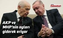 AKP ve MHP'nin oyları giderek eriyor