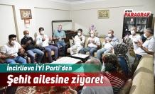 İncirliova İYİ Parti'den Şehit ailesine ziyaret