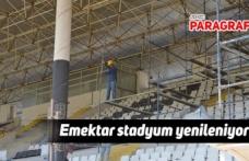 Emektar stadyum yenileniyor