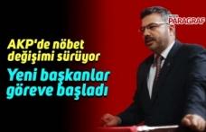 AKP'de nöbet değişimi sürüyor