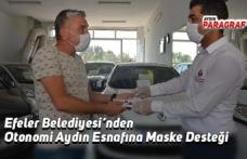 Efeler Belediyesi'nden Otonomi Aydın Esnafına Maske Desteği