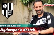 Efor Çelik Kapı'dan Aydınspor'a destek