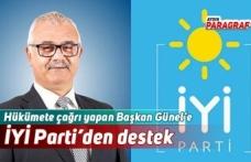 Hükümete çağrı yapan Başkan Günel'e İYİ Parti'den destek
