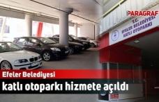 Efeler Belediyesi katlı otoparkı hizmete açıldı