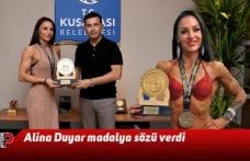 Alina Duyar madalya sözü verdi