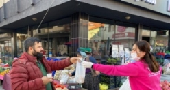 Belediye Başkanı Öndeş'ten Pazarcı Esnafına sıcak çorba ikramı
