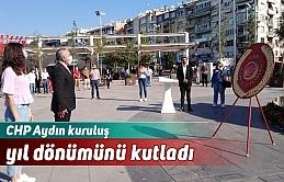 CHP Aydın kuruluş yıl dönümünü kutladı