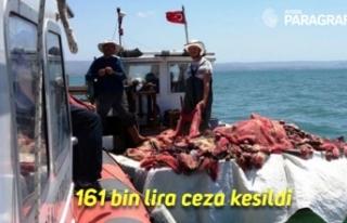 Aydın'da su ürünleri denetiminde 161 bin lira...
