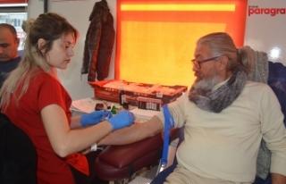 Didim'de anlamlı kan bağışı kampanyası