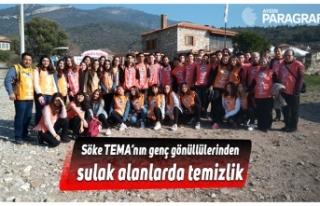 Söke TEMA'nın genç gönüllülerinden sulak alanlarda...