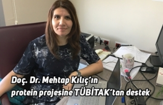 Doç. Dr. Mehtap Kılıç'ın protein projesine...