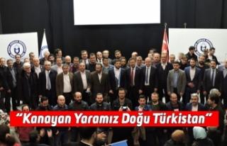 """""""Kanayan Yaramız Doğu Türkistan"""""""