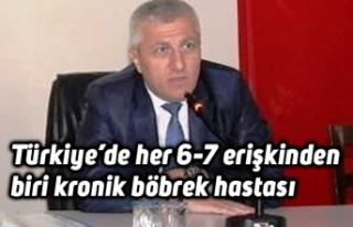 Türkiye'de her 6-7 erişkinden biri kronik böbrek...
