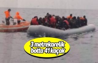 3 metrekarelik botta 41 kaçak