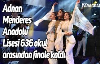 Aydın Adnan Menderes Anadolu Lisesi 636 okul arasından...