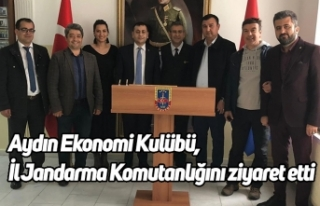 Aydın Ekonomi Kulübü, İl Jandarma Komutanlığını...