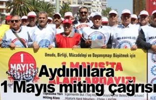Aydınlılara  1 Mayıs miting çağrısı