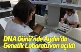 DNA Günü'nde Aydın'da Genetik Laboratuvarı...