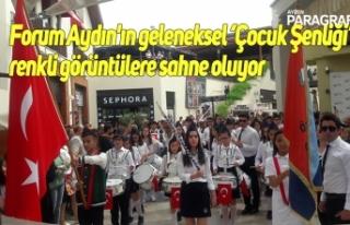 Forum Aydın'ın geleneksel 'Çocuk Şenliği'...