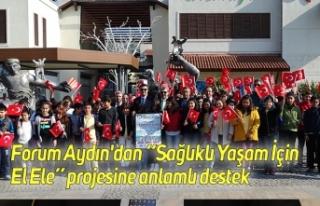 """Forum Aydın'dan """"Sağlıklı Yaşam İçin..."""