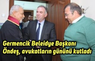 Germencik Beleidye Başkanı Fuat Öndeş, avukatların...