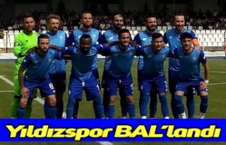 Yıldızspor BAL'landı