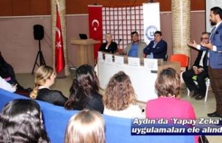 Aydın'da 'Yapay Zeka' uygulamaları ele alındı