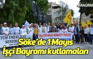 Söke'de 1 Mayıs İşçi Bayramı kutlamaları