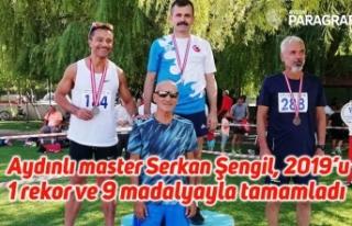 Aydınlı master Serkan Şengil, 2019'u 1 rekor...