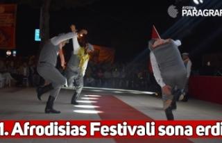 1. Afrodisias Festivali sona erdi