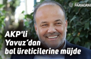 AKP'li Yavuz'dan bal üreticilerine müjde