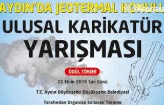 Aydın Büyükşehir'den Jeotermal konulu karikatür...