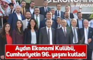 Aydın Ekonomi Kulübü, Cumhuriyetin 96. yaşını...