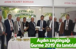Aydın zeytinyağı Gurme 2019'da tanıtıldı
